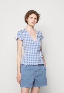 Polo Ralph Lauren - T-Shirt print - blue/white gingha