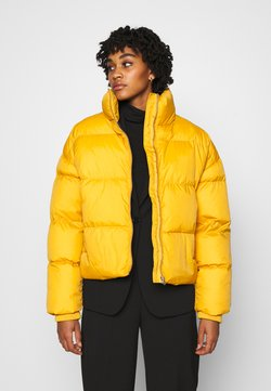 Dr.Denim - SKYLAR PUFFER JACKET - Winterjacke - gold digger