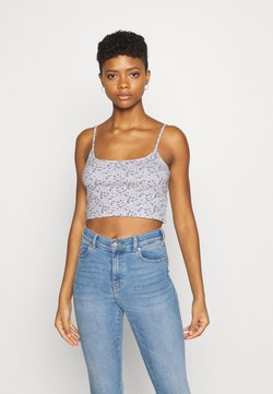 Hollister Co. - BABY CAMI SOLID - Top - purple