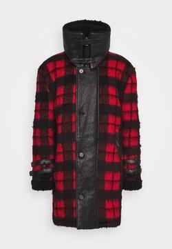 Be Edgy - DORIAN - Manteau classique - black/red