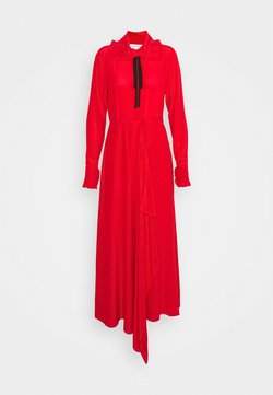 Victoria Beckham - RUFFLE COLLAR DRESS - Maxi dress - bright red
