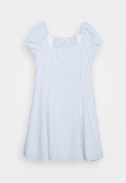 Abercrombie & Fitch - FIT N FLARE DRESS - Freizeitkleid - blue