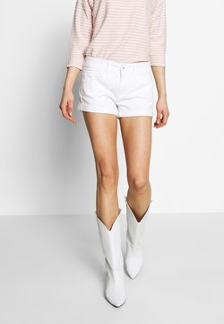 Pepe Jeans - SIOUXIE - Jeansshort - white denim