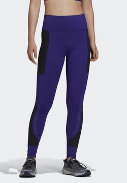 adidas by Stella McCartney - ADIDAS BY STELLA MCCARTNEY SUPPORT CORE LEGGINGS - Tights - purple