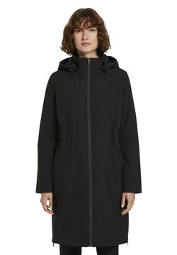 TOM TAILOR - MIT STEPPFUTTER - Parka - deep black