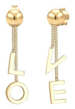 Elli - LOVE LETTERING - Örhänge - gold