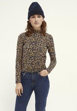 Maison Scotch - PINTED WITH HIGH NECK - Langarmshirt - Multi coloured