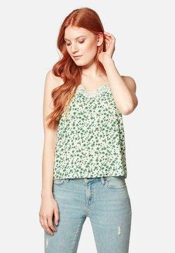 Mavi - Bluse - white green petal print