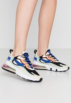 Nike Sportswear - AIR MAX 270 REACT - Sneakers laag - fossil/hyper blue/black/pistachio frost/fire pink/hyper crimson