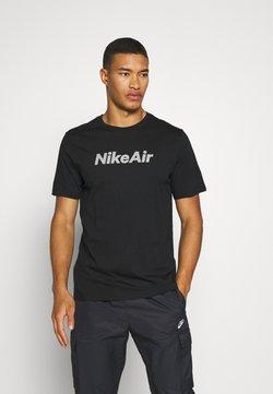 Nike Sportswear - TEE AIR - T-shirt imprimé - black
