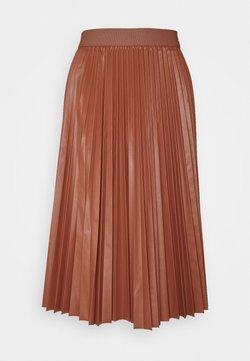 MAX&Co. - FLAVIANA - Pleated skirt - rust