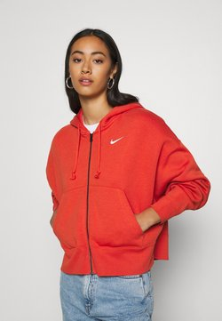 Nike Sportswear - TREND - Sweatjacke - mantra orange/white