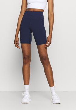 Under Armour - MERIDIAN BIKE SHORTS - Medias - midnight navy