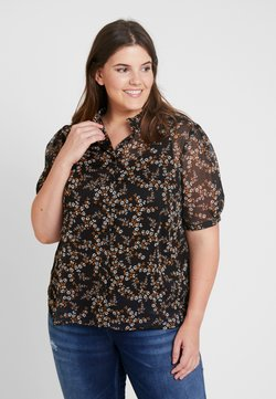 New Look Curves - DITSY PRINT PIE CRUST - Pusero - black
