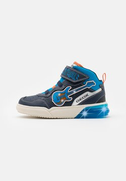 Geox - GRAYJAY BOY - Sneakers hoog - navy/light blue