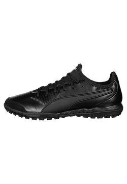Puma - KING PRO - Indoor football boots - puma black/puma white