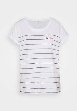 edc by Esprit - VALENTINE - T-Shirt print - white