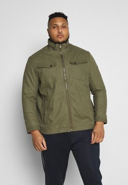 TOM TAILOR MEN PLUS - CASUAL TOUCH - Veste légère - olive night green