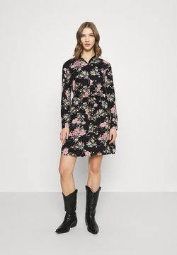 Pieces - PCPAOLA LS DRESS - Paitamekko - black