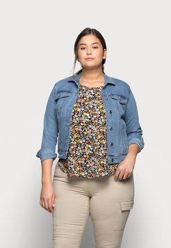 Vero Moda Curve - VMHOT SOYA JACKET - Veste en jean - light blue denim