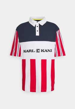 Karl Kani - RETRO BLOCK STRIPE TEE - T-Shirt print - white