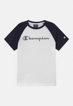 Champion - AMERICAN CLASSICS CREWNECK UNISEX - T-shirt con stampa - white