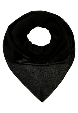 Repeat - TRIANGLE SCARF - Chusta - black