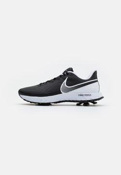 Nike Golf - REACT INFINITY PRO - Golf shoes - black/white