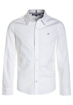 Tommy Hilfiger - BOYS SOLID STRETCH - Koszula - bright white