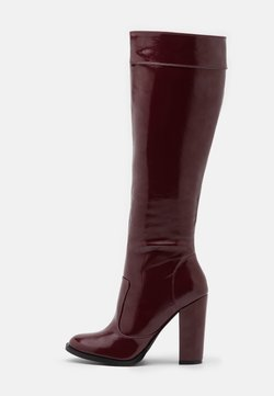 RAID - KOLUMN - High heeled boots - burgundy