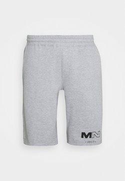 Mennace - CLUB DRAWCORD - Jogginghose - grey marl