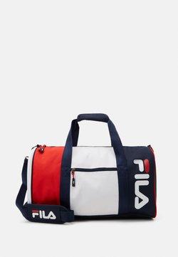 Fila - SPORTY DUFFEL BAG - Sporttasche - black iris/bright white/true red