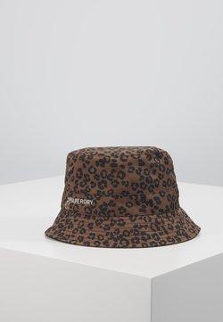 Superdry - REVERSIBLE BUCKET HAT - Hoed - black