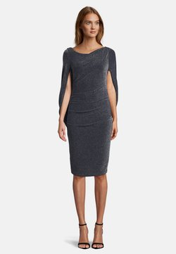 Vera Mont - Cocktailkleid/festliches Kleid - dark blue/silver