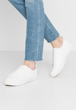 New Look Wide Fit - MOGUEL - Sneakersy niskie - white