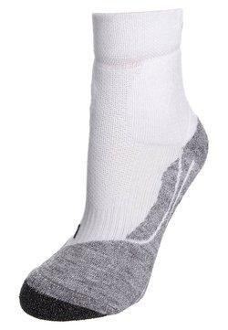 FALKE - TE SHORT - Sportsocken - white