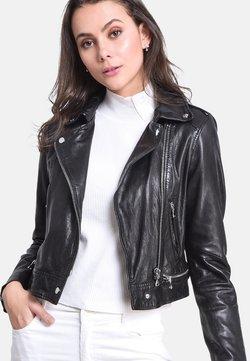 Oakwood - KYOTO  - Veste en cuir - black