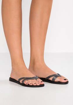 Ipanema - KIREI - Teenslippers - black/silver