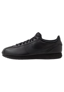 Nike Sportswear - CORTEZ BASIC - Matalavartiset tennarit - black/anthracite/white