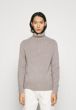 FTC Cashmere - PULLOVER ROLLNECK - Sweter - dune