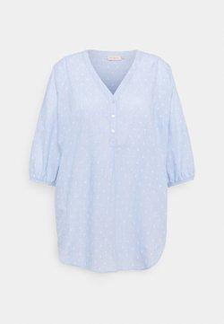 ONLY Carmakoma - CARTINKY LIFE TUNIC - Tunika - light blue
