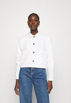ALIGNE - CYPRUS - Giacca di jeans - ecru