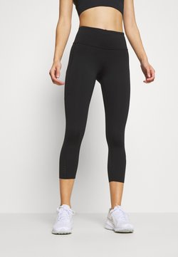 Nike Performance - EPIC CROP - Medias - black/reflective silver