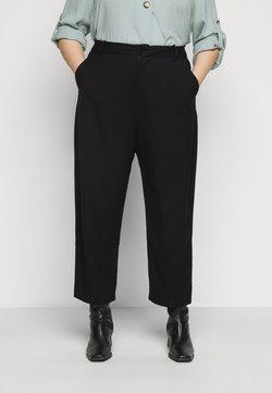 Kaffe Curve - KCMETA PANTS SUITING - Pantalon classique - black deep