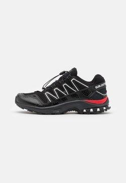 Salomon - SHOES XA-COMP ADV UNISEX - Sneaker low - black/white/goji berry