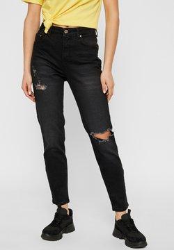 Pieces - Slim fit jeans - black
