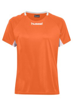Hummel - CORE TEAM  - T-shirt print - orange