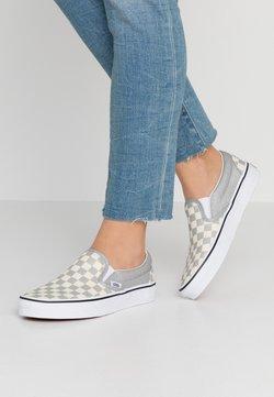 Vans - CLASSIC UNISEX - Loaferit/pistokkaat - silver/true white