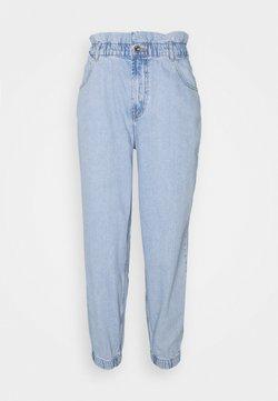 ONLY - ONLOVA ELASTIC LIFE CARROT - Jeans fuselé - light blue denim