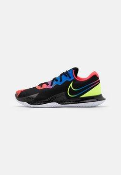 Nike Performance - AIR ZOOM VAPOR CAGE 4 - Zapatillas de tenis para todas las superficies - black/volt/laser crimson/racer blue